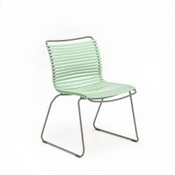 Chaise de jardin coloris vert sauge CLICK Houe