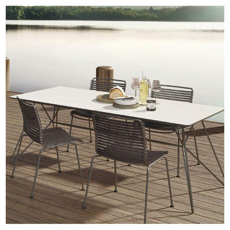 click chaise de jardin houe design en 14 couleurs. Black Bedroom Furniture Sets. Home Design Ideas