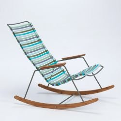 Rocking chair multicolore 2 CLICK Houe