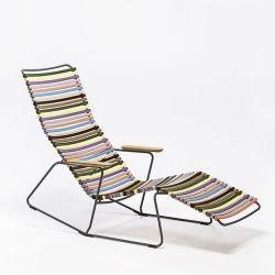Chaise longue sunrocker multicolore 1 CLICK Houe