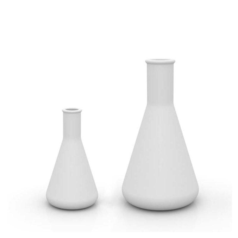 Vases hauteurs 65 cm et 100 cm ERLENMEYER CHEMISTUBE Vondom