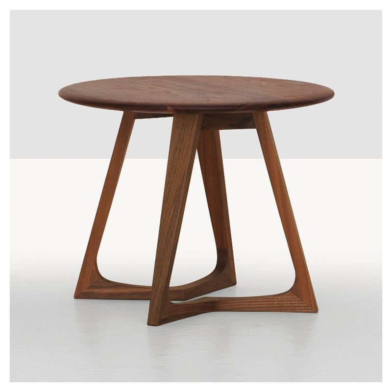 Twist Night, table chevet Zeitraum design bois massif # Table De Chevet Bois Design