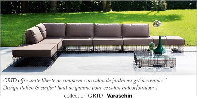 Varaschin, mobilier outdoor design & meubles terrasse | MyClubDesign