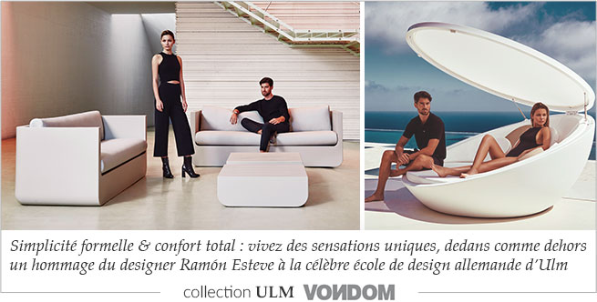 Vondom, mobilier de jardin design, salon d\'été design   MyClubDesign
