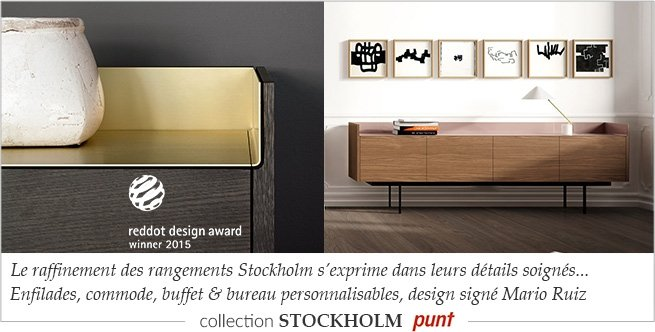 punt meubles design contemporain espagnol myclubdesign. Black Bedroom Furniture Sets. Home Design Ideas