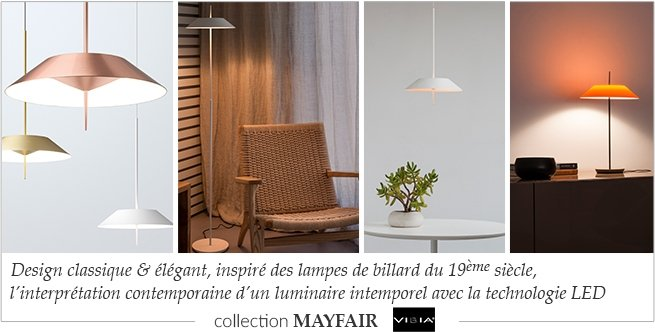 vibia luminaires design haut de gamme clairage led myclubdesign. Black Bedroom Furniture Sets. Home Design Ideas
