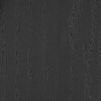 Chêne teinté noir