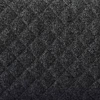 Gris graphite surpiqué-Felt quilted 623