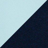 Assise bleu ciel-Steelcut trio 2 820, dossier bleu acier-Divina MD 783