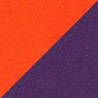 Assise mandarine-Felt 624, dossier violet-Vilano