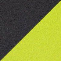 Assise noir-Valencia, dossier vert anis-Divina 3 936
