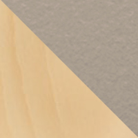 Hêtre naturel-Céramique camel