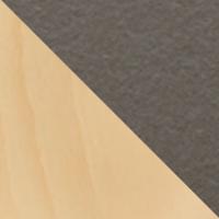 Hêtre naturel-Céramique gris