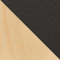 Hêtre naturel-Céramique noire