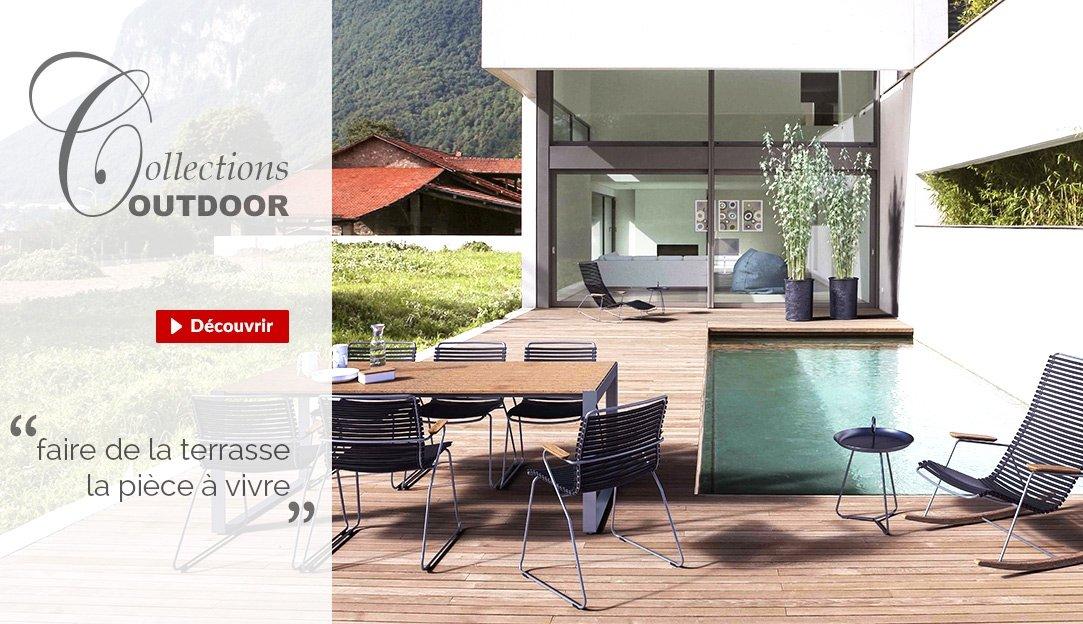 Meubles outdoor design pour faire de la terrasse la pièce à vivre