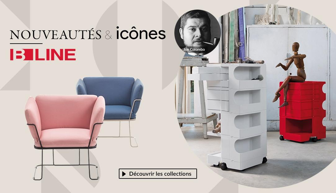 Voir les collections de la marque B-Line, nouveautés & icônes du design