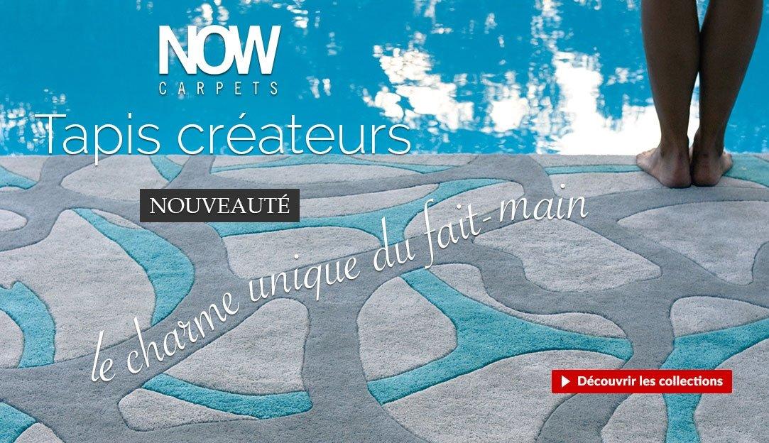 Nouveauté : tapis créateurs de la marque espagnole Now Carpets
