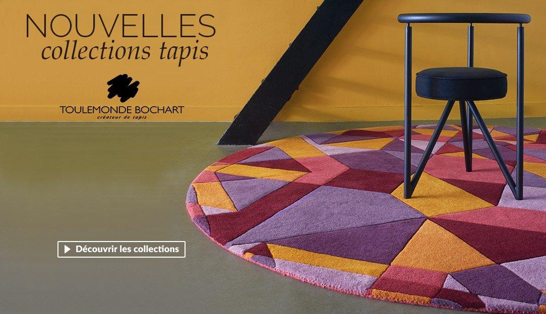 Nouvelles collections tapis Toulemonde Bochart