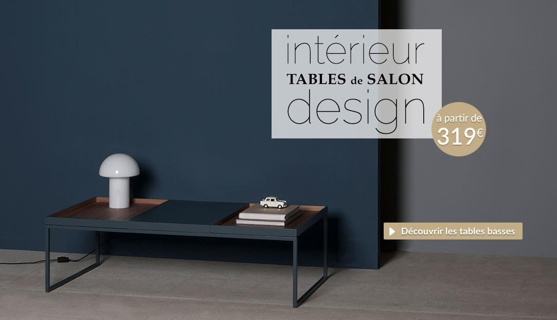 Découvrir les tables de salon design collection automne hiver 2018