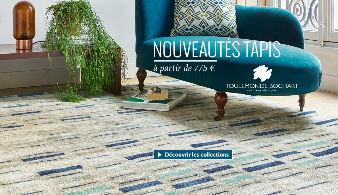 Tapis Scandinavia de la nouvelle collection 2017 tapis Toulemonde Bochart