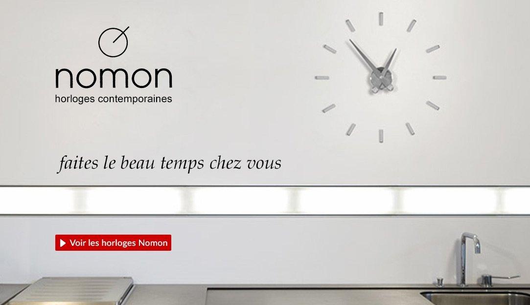 Voir les horloges contemporaines Nomon