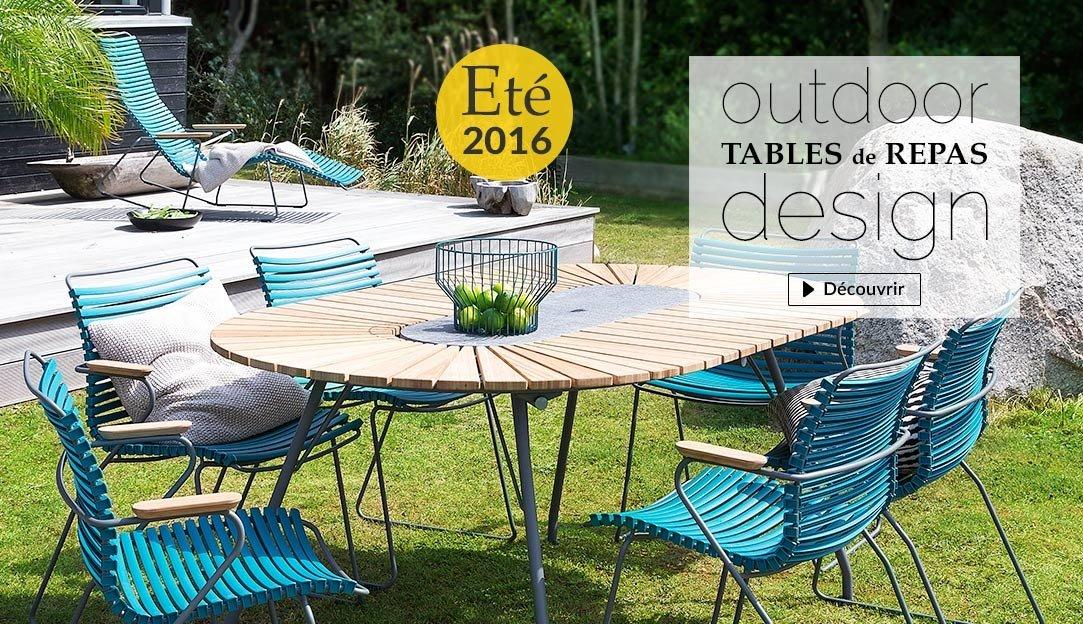 Table de repas pour le jardin  - Outdoor design Eté 2016