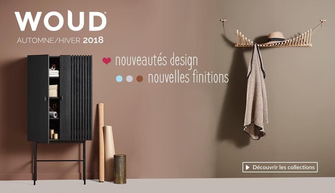 Découvrir les nouveautés design collection automne hiver 2018 de la marque danoise Woud