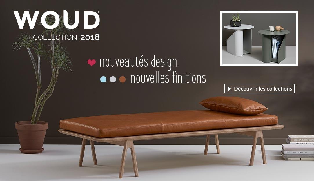Découvrir les nouveautés design collection 2018 de la marque danoise Woud