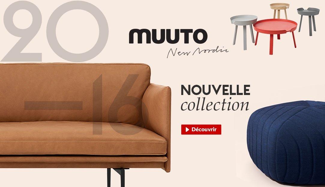 Nouvelles collections 2016 - Meubles de la marque danoise Muuto