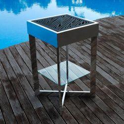 Barbecue design à charbon, grille fonte anti-corrosion BATUR Fesfoc