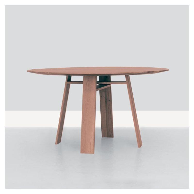 Table ronde chêne teinté rose pastel  BONDT Zeitraum