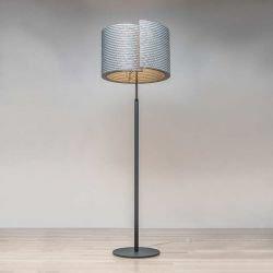 Lampe de sol éco-design coloris gris BUILD @LUCE Staygreen