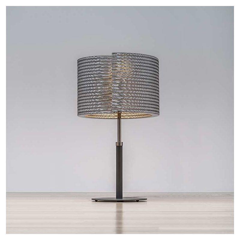 Lampe de table éco-design TABLE @LUCE Staygreen coloris gris