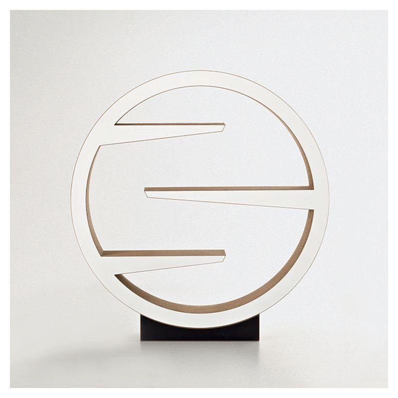 Étagère ronde OMM éco-design Staygreen, coloris kraft naturel
