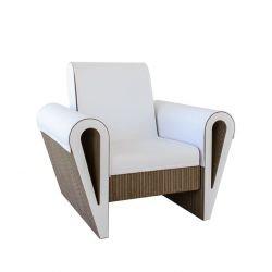Fauteuil de salon éco-design DAHILA Staygreen