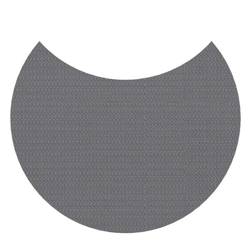 Tapis indoor & outdoor en vinyle tissé MOON Dickson-Constant, coloris Titane U518