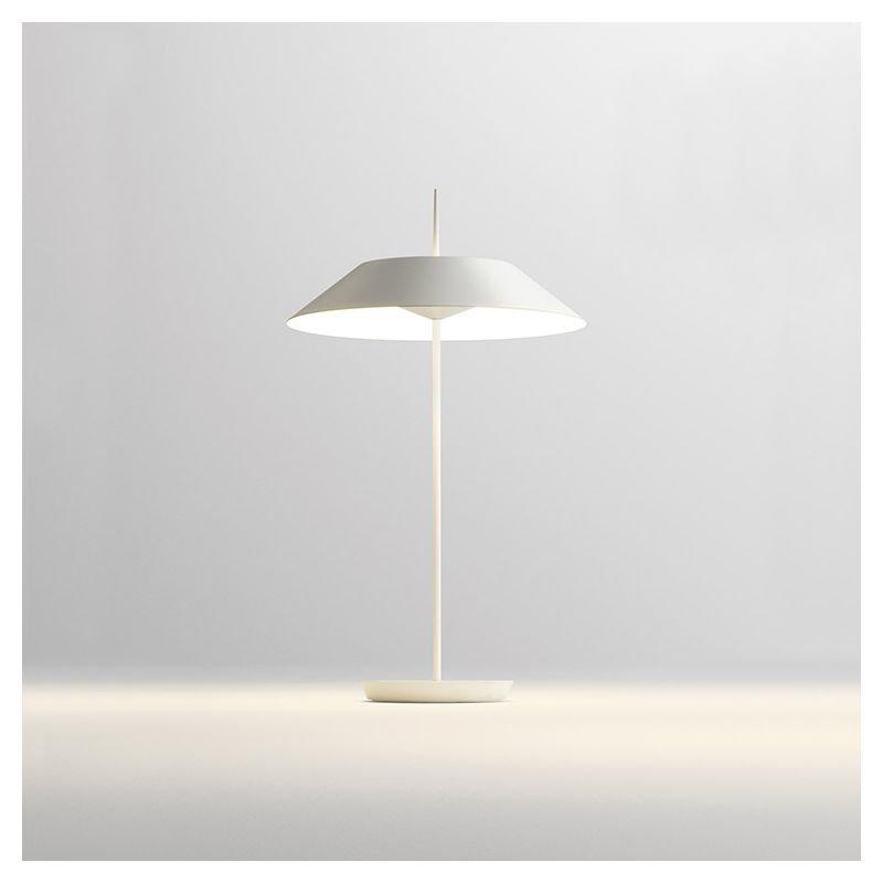 Lampe de table LED coloris blanc MAYFAIR Vibia