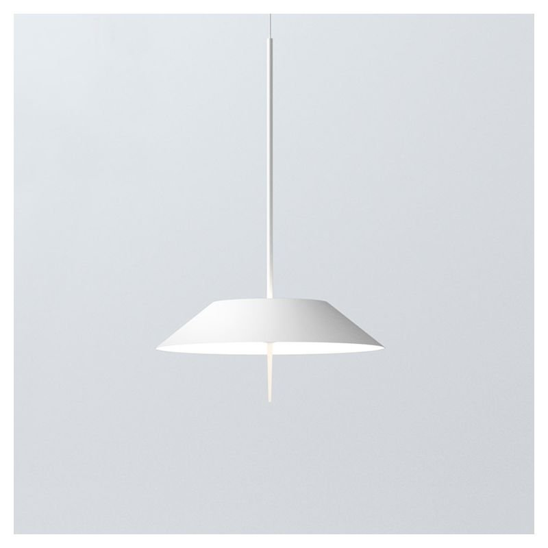 Suspension blanche LED MAYFAIR Vibia