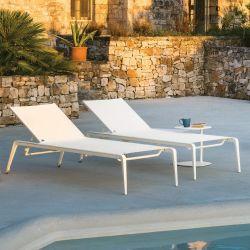 Bain de soleil aluminium et Batyline® USHUAIA Fast