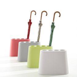 Porte-parapluies AKI B-Line, coloris vert, gris, blanc, corail