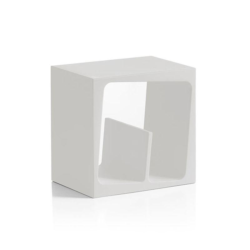 Cube de rangement blanc modulable QUBY B-Line