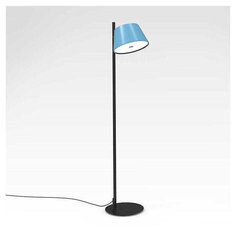 Lampe de sol bleue TAM TAM P Marset