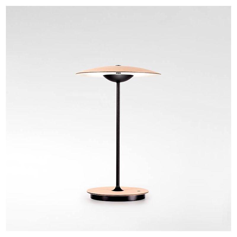 Lampe de table LED sans fil GINGER 20 M Marset, finition chêne