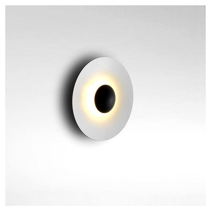 Applique GINGER C Marset, Ø 32 cm, intérieur blanc
