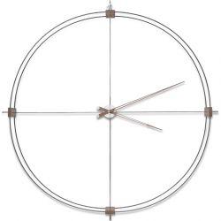 Horloge murale DELMORI Nomon, cadran noir