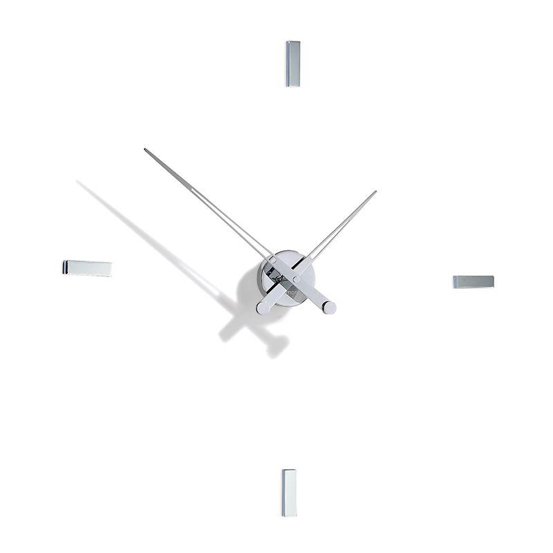 Horloge design TACON i Nomon en acier, 4 repères horaires