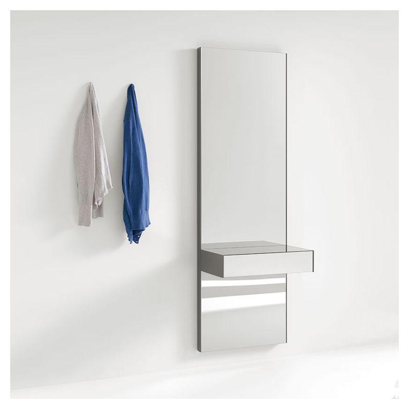 Console miroir à tiroir GREY Kendo, modèle 638