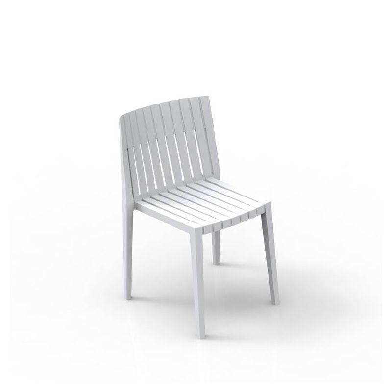 Chaise d'extérieur blanche SPRITZ Vondom