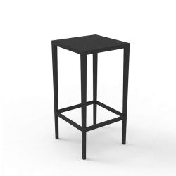 Table de bar noire SPRITZ Vondom