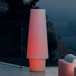 Lampe LED d'extérieur ULM Vondom, modèle lumière changeante RVB